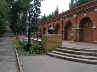 Липецк. Нижний парк