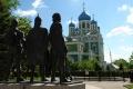 Елец. Памятный знак в честь 850-летия основания города Ельца