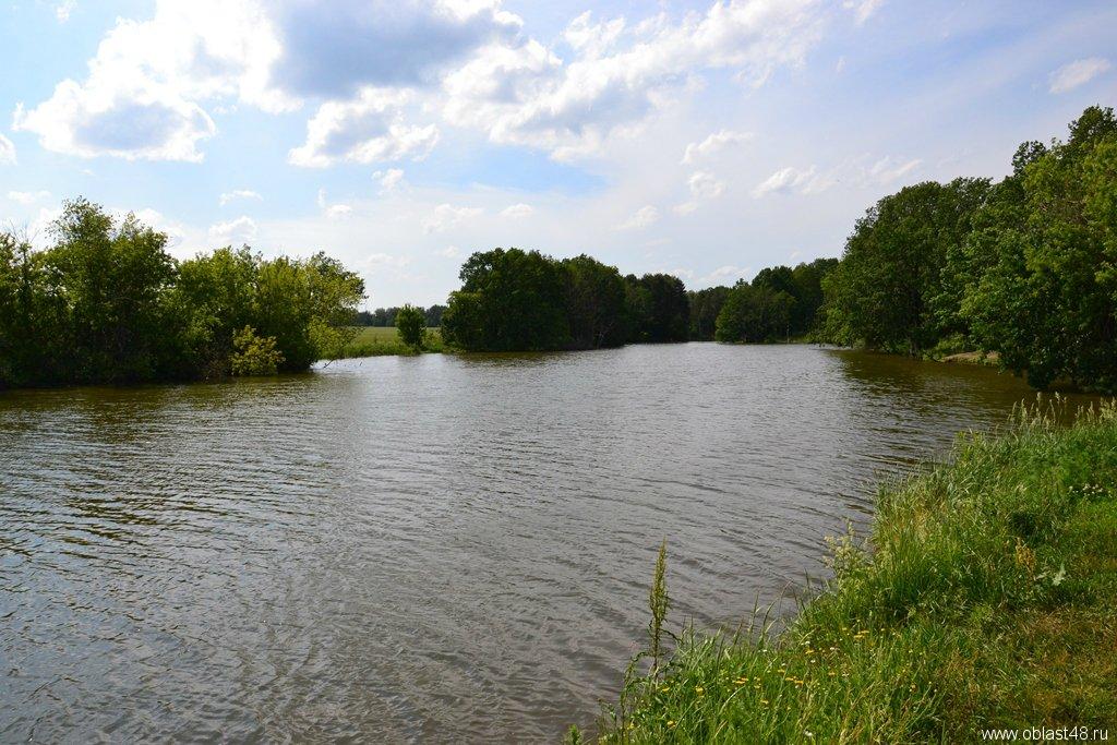 водоемы для рыбалки в липецкой области