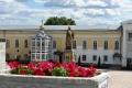 Задонск. Рождество-Богородицкий мужской монастырь. Трапезный корпус с церковью Вознесения Господня