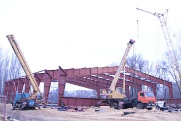 Задонск. Строительство ледового дворца (ноябрь 2013 г.)